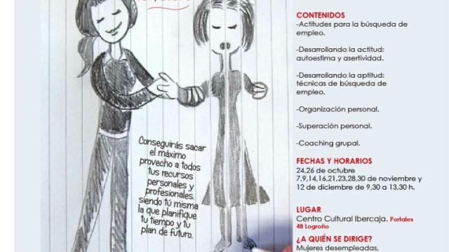 TÚ MARCAS TU FUTURO Cursos gratuitos de formación personal y profesional para mujeres desempleadas